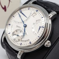 Maurice Lacroix Masterpiece new 2008 Manual winding Watch with original box and original papers MP7068-SS001-191