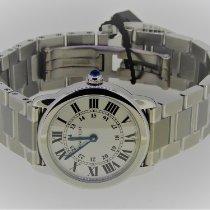 Cartier Ronde Solo de Cartier neu 2020 Quarz Uhr mit Original-Box und Original-Papieren W6701004