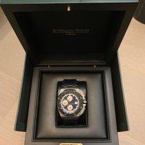 Audemars Piguet Royal Oak Offshore Chronograph Platinum 44mm Blue No numerals