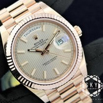 Rolex Day-Date 40 nouveau 40mm Or rose