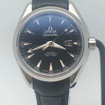歐米茄 Seamaster Aqua Terra 鋼 34mm 黑色 無數字