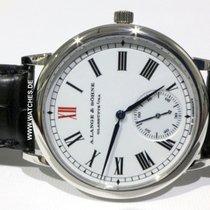 A. Lange & Söhne Langematik Platinum 37mm White