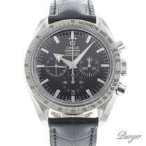 Omega Speedmaster Broad Arrow Steel 42mm Black