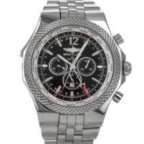 Breitling Bentley GMT Steel 49mm Black No numerals United States of America, Maryland, Baltimore, MD