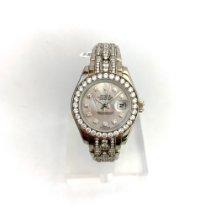 Rolex Lady-Datejust Pearlmaster Weißgold 29mm Perlmutt Keine Ziffern Schweiz, Zurich