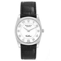 Rolex Cellini Danaos White gold 34mm White Arabic numerals