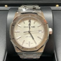 Audemars Piguet Royal Oak Selfwinding Steel 37mm Silver No numerals