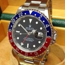 Rolex 16710 Сталь 2003 GMT-Master II 40mm подержанные