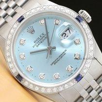Rolex Datejust Сталь 36mm Синий
