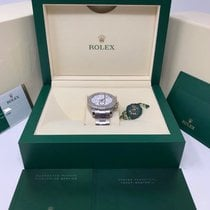 Rolex White gold Automatic White No numerals 44mm pre-owned Yacht-Master II