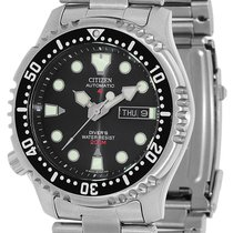 Citizen Steel 41.5mm Automatic NY0040-09EEM new