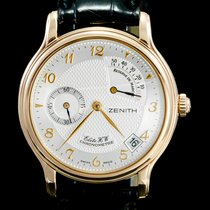 Zenith Elite Power Reserve Rose gold 36mm White Arabic numerals