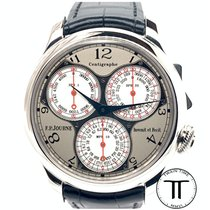 F.P.Journe Souveraine Platinum 40mm Silver Arabic numerals United States of America, New York, New York