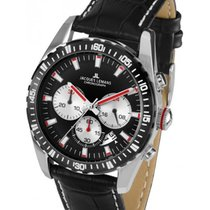 Jacques Lemans Sport Liverpool Steel 41mm Black