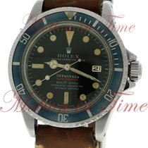 """More 6 of 26 Rolex 1680 Vintage """"Red Submariner"""" Tiffany & Co...."""