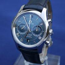 Omega De Ville Co-Axial Steel 42mm Blue Roman numerals