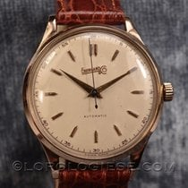 Eberhard & Co. Automatic 18 Kt. Red Gold Oversized Watch