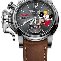 "Graham Chronofighter Vintage Noseart Ltd. Edition ""Belle"""