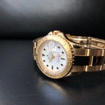 Rolex Yacht-Master Medium YG 69628 White Dial Box 1995