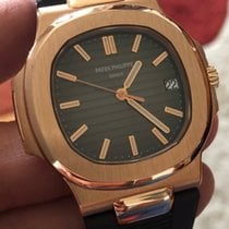 Patek Philippe Nautilus Rose Gold 18 kt with RubberB