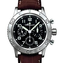 Breguet Type XX - XXI - XXII Steel 39.5mm Black Arabic numerals United Kingdom, London