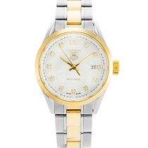 TAG Heuer Carrera Lady pre-owned 27mm Gold/Steel