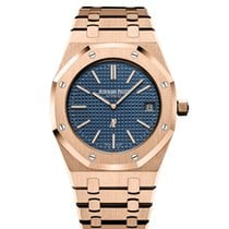 Audemars Piguet 15202OR.OO.1240OR.01 Roségold 2013 Royal Oak Jumbo 39mm gebraucht