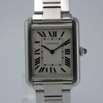 Cartier 3170 Stahl Tank Solo 31mm
