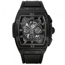 Hublot Spirit of Big Bang pre-owned 45mm Chronograph Date Rubber