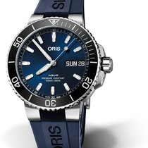 Oris Hammerhead Limited Edition Steel 45.5mm Blue No numerals
