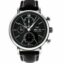IWC pre-owned Automatic 42mm Black Sapphire Glass 3 ATM
