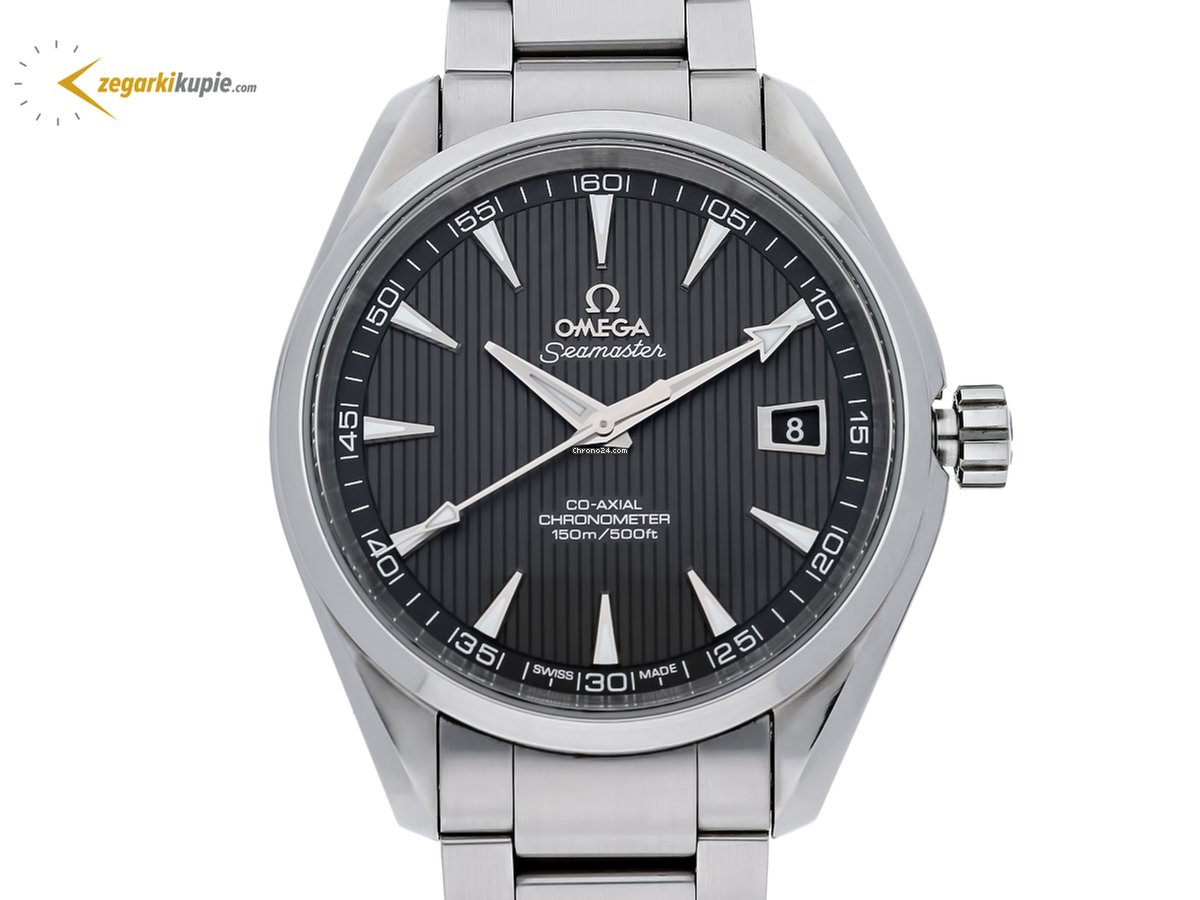 dc421b0cc2af0b Używany zegarek Omega Seamaster Aqua Terra   Kup używany zegarek Omega  Seamaster Aqua Terra