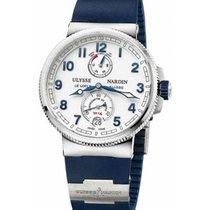 Ulysse Nardin Marine Chronometer Manufacture Сталь 43mm Белый Aрабские
