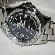 Breitling Steel Quartz Black Arabic numerals 33mm pre-owned Colt Oceane