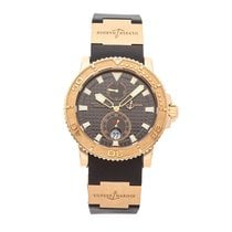 Ulysse Nardin Rose gold 42.7mm Automatic 266-33-3A/92 pre-owned