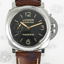 Panerai Aço Corda manual usado Luminor Marina 1950 3 Days
