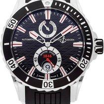 Ulysse Nardin Diver Chronometer Acier 44mm Noir Arabes