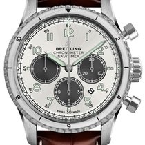 Breitling AB01171A-G839-1009P-TANG Acero Aviator 8 43mm nuevo