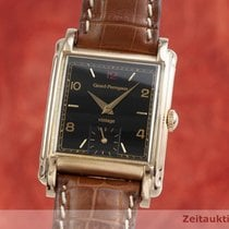 Girard Perregaux Or rouge Remontage manuel Noir 27.5mm occasion