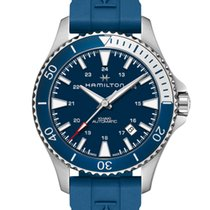Hamilton Khaki Navy Scuba Steel 40mm Blue United States of America, Massachusetts, Florence
