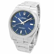 Rolex Oyster Perpetual 39 Steel 39mm Blue United States of America, New York, New York