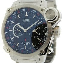 Oris BC4 Flight Timer GMT Watch 690-7615-4154MB