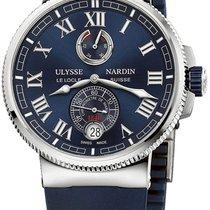 f7cf030a25d3 Ulysse Nardin 1183-126-3.43 Titanium Marine Chronometer Manufacture