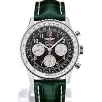 Breitling Navitimer 01 43 Arabic Numeral Dial Green Crocodile...