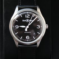 Bell & Ross Vintage Military 39 Date Black Dial