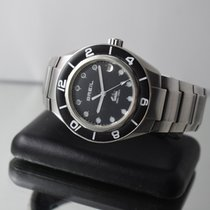 Breil MANTA VINTAGE DIVER SUB WATCH 100 METERS STEEL 38MM