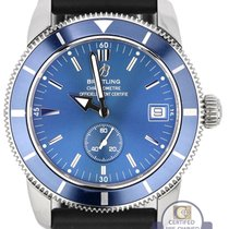 Breitling SuperOcean Heritage 38 Blue A37320 38mm Rubber...