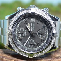 Breitling 40mm Breitling Chronomat GT von 2008 mit Diamanten...