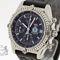 Breitling Chronograph 39mm Automatik 1997 gebraucht Chronomat (Submodel) Schwarz