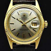 Rolex Day-Date Oro amarillo 36mm Plata Sin cifras España, Barcelona
